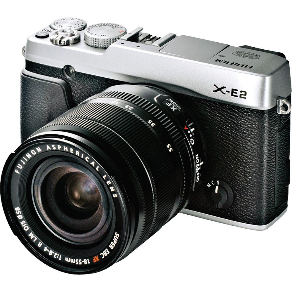 Fuji Camera: Fujifilm X-E2 Mirrorless Digital Camera With 18-55mm 16404935