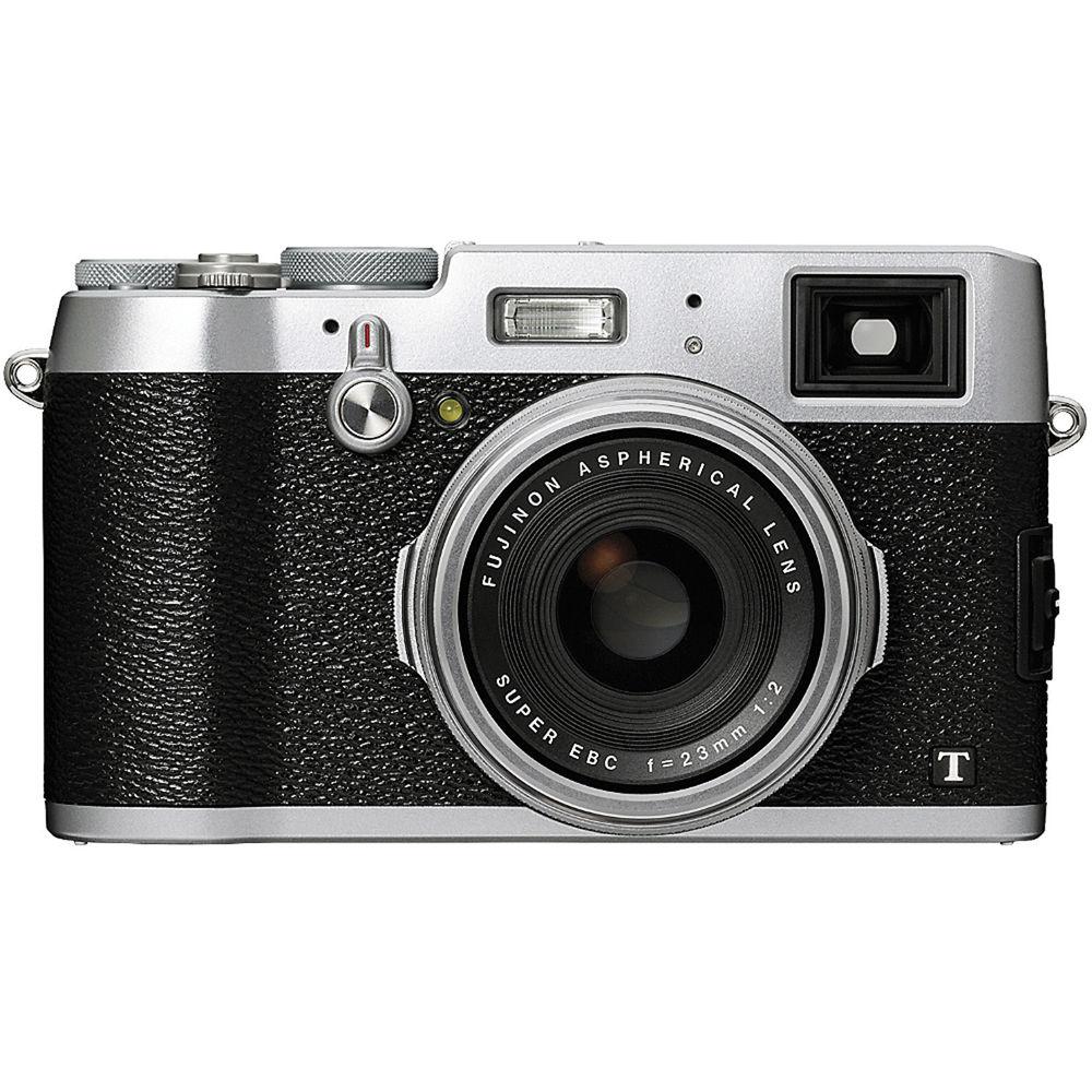 Fuji Digital Cameras: Fujifilm X100T Digital Camera (Silver Fuji X100T) B&H