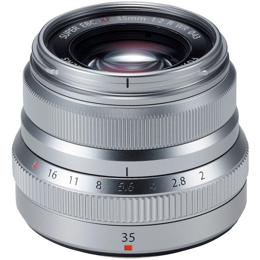 Fujifilm Xf 35mm F 2 R Wr Lens Silver 16481880 Bh Photo Video X E3 Kit 18 55mm F2