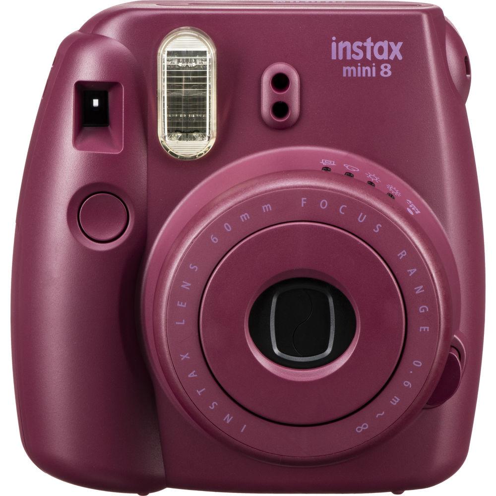Fujifilm Instax Mini 8 Instant Film Camera Plum
