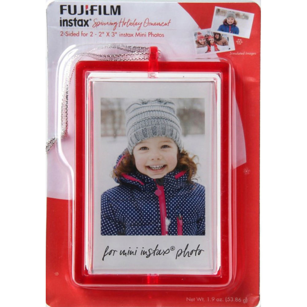 Fujifilm instax mini Spinning Holiday Ornament Picture 600018766