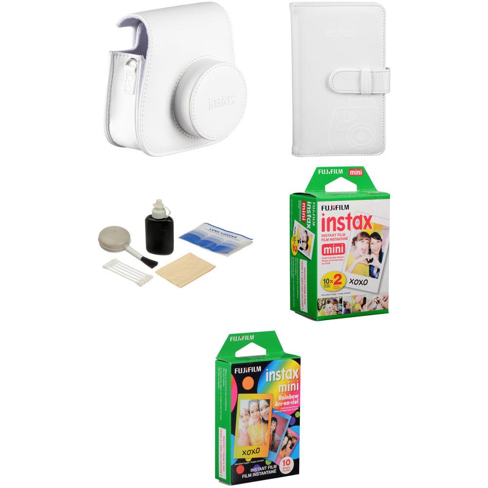 fujifilm starter kit for instax mini 8 instant film camera b h. Black Bedroom Furniture Sets. Home Design Ideas