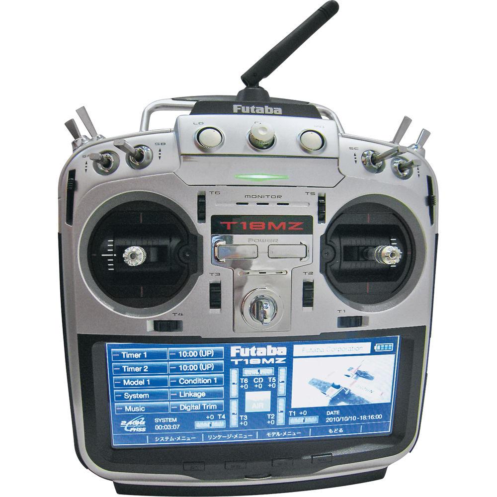 Futaba 18mzh 18 Channel 2 4 Ghz Computer Radio System Futk9531