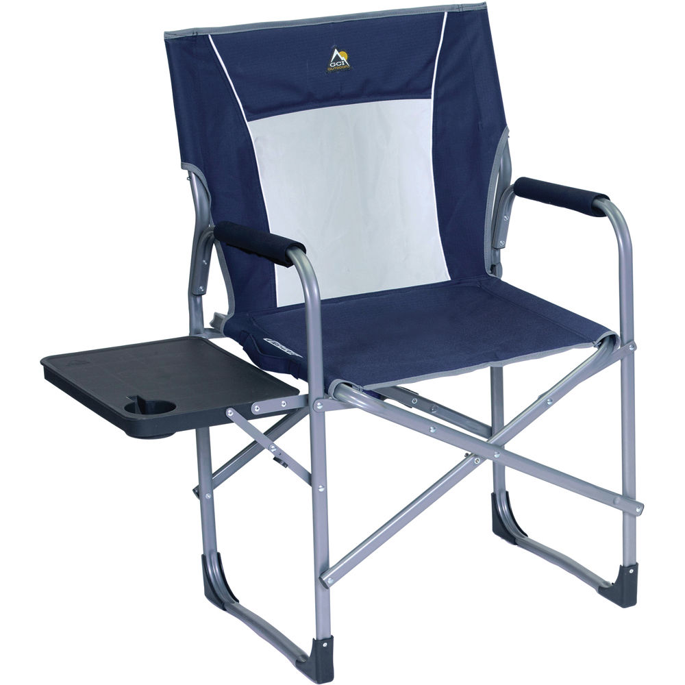 GCI Outdoor SLIM FOLD Director s Chair Midnight Blue B&H