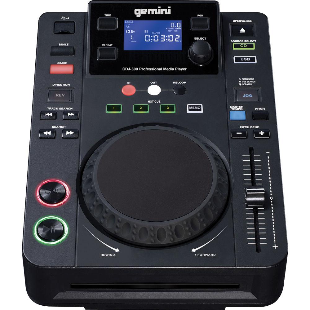 Gemini CDJ-300 Professional Media Player CDJ-300 B&H Photo Video
