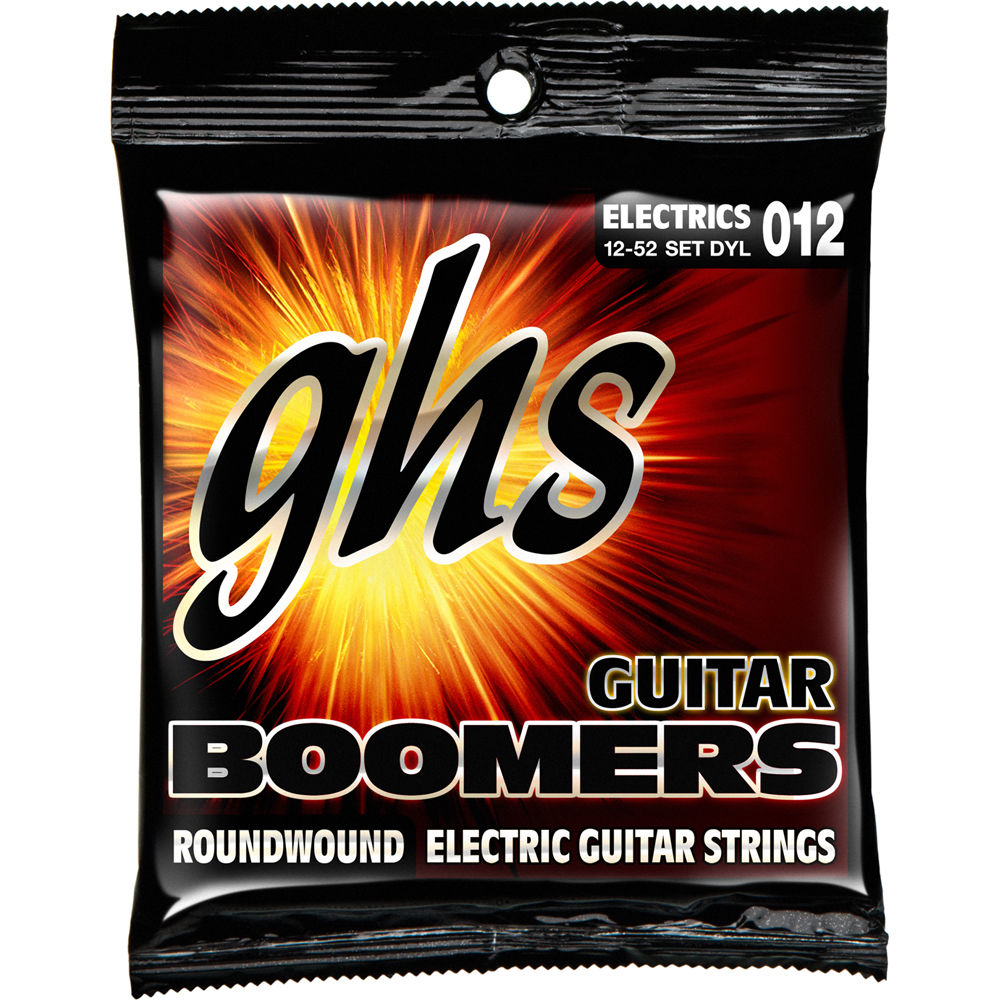 ghs dyl light boomers wound 3rd roundwound electric guitar dyl. Black Bedroom Furniture Sets. Home Design Ideas