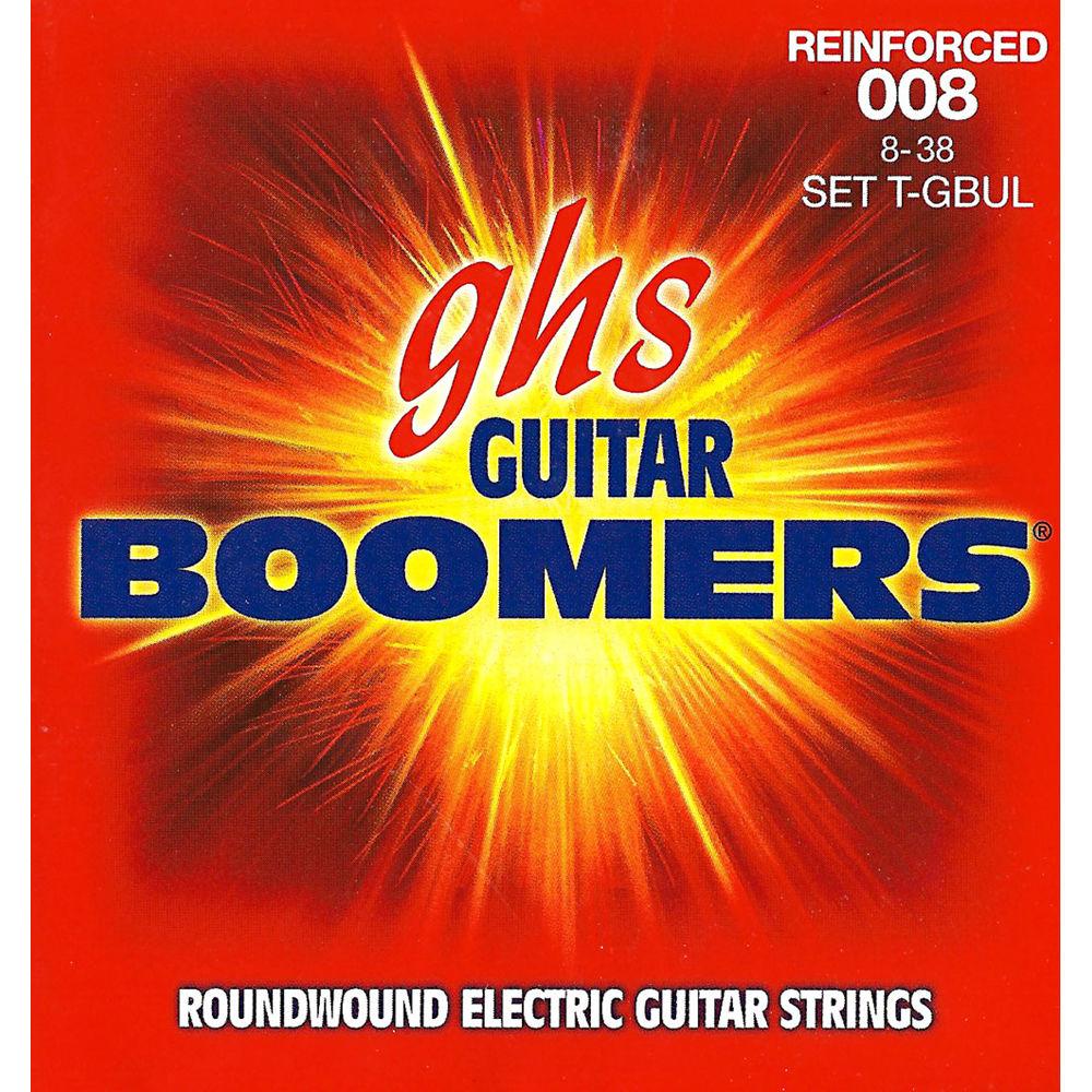 ghs t gbul reinforced boomers ultra light electric guitar t gbul. Black Bedroom Furniture Sets. Home Design Ideas