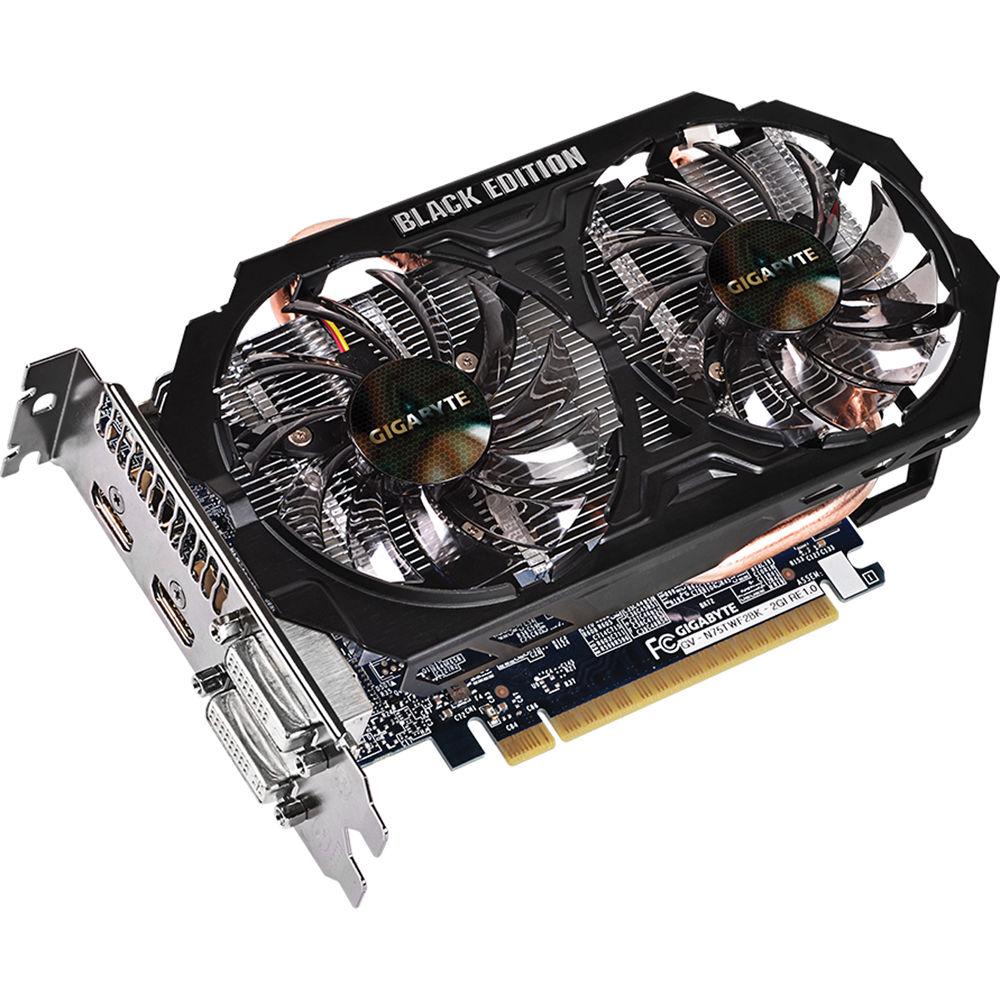 Gigabyte GeForce GTX 750 Ti Graphics Card Black GV ...