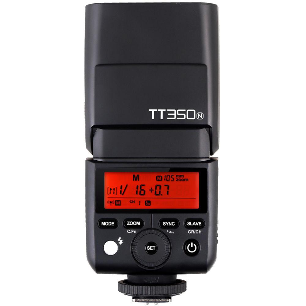 Godox Tt350n Mini Thinklite Ttl Flash For Nikon Cameras Camera Parts Diagram