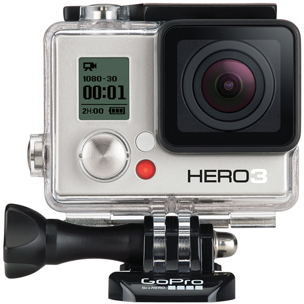 gopro hero3 white edition action camera chdhe 302 b h photo. Black Bedroom Furniture Sets. Home Design Ideas