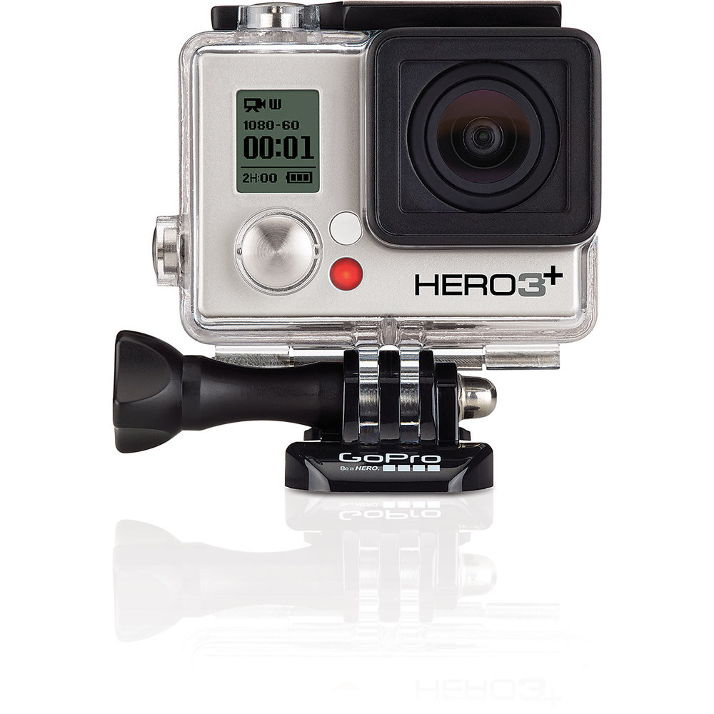 GoPro HERO3+ Silver Edition Camera CHDHN302 Bamp;H Photo Video