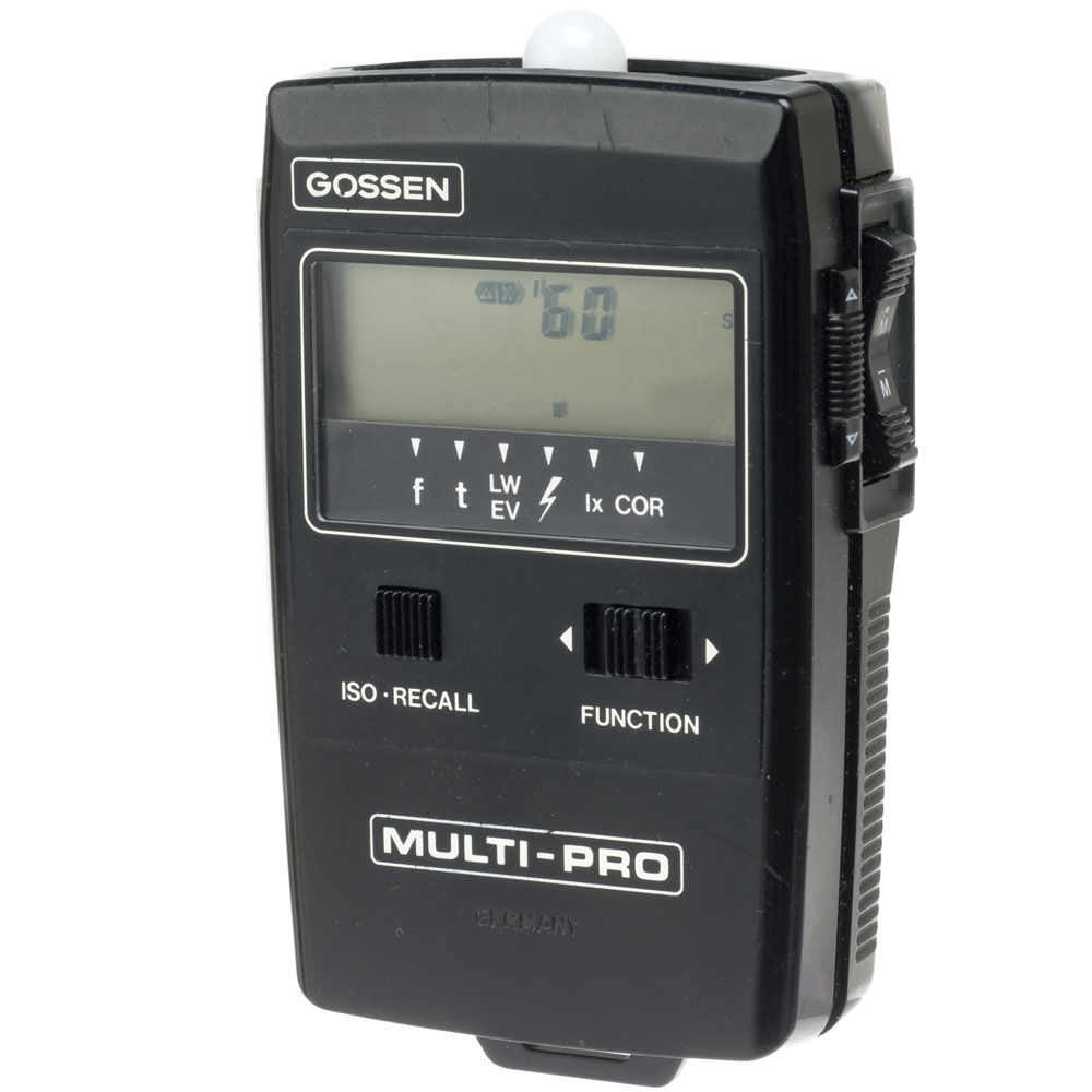 used gossen multi pro ambient flash meter 4035 b h photo video. Black Bedroom Furniture Sets. Home Design Ideas