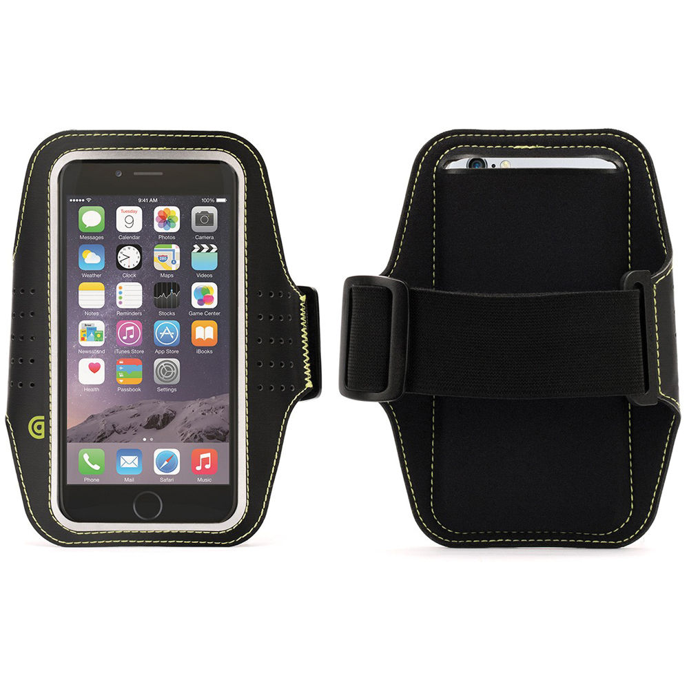 griffin technology trainer armband for iphone 6 6s gb38804 b h. Black Bedroom Furniture Sets. Home Design Ideas