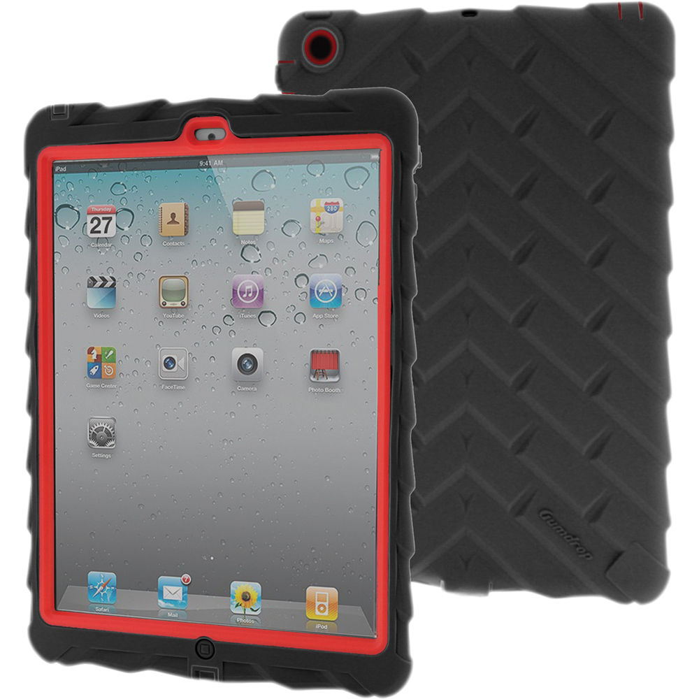 gumdrop cases drop series case for ipad air dt ipad5 blk red v2