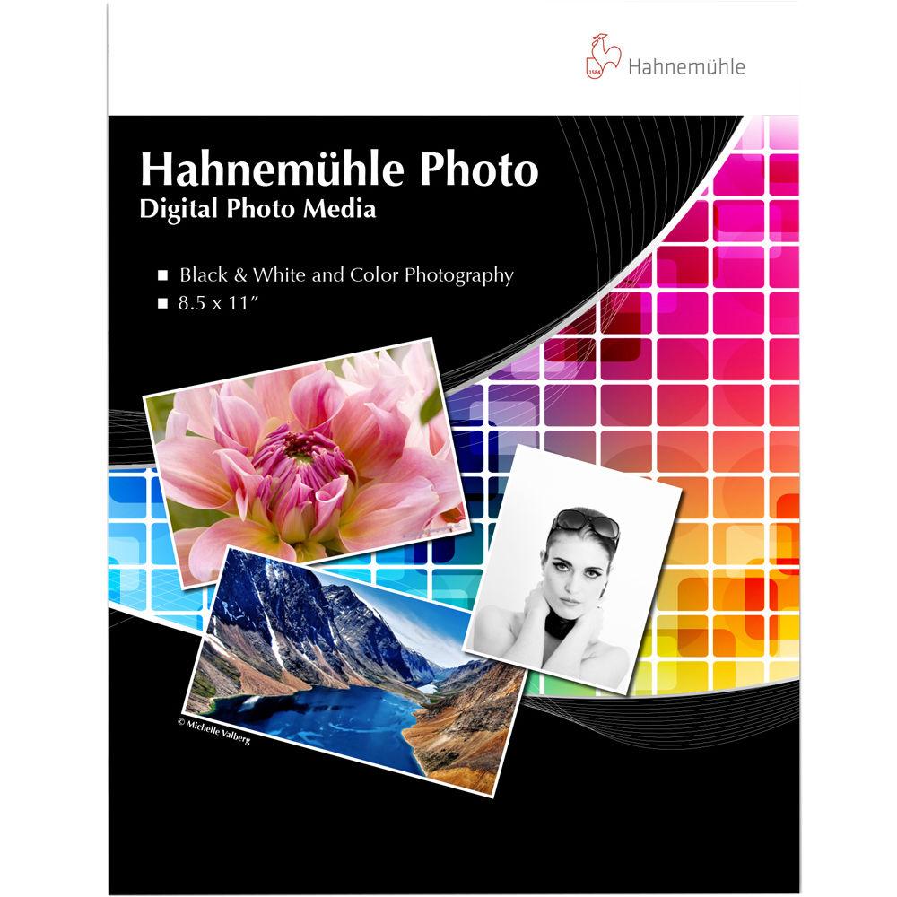 Hahnemühle Fine Art Inkjet Photo Paper Sample Pack 10640888 B&H