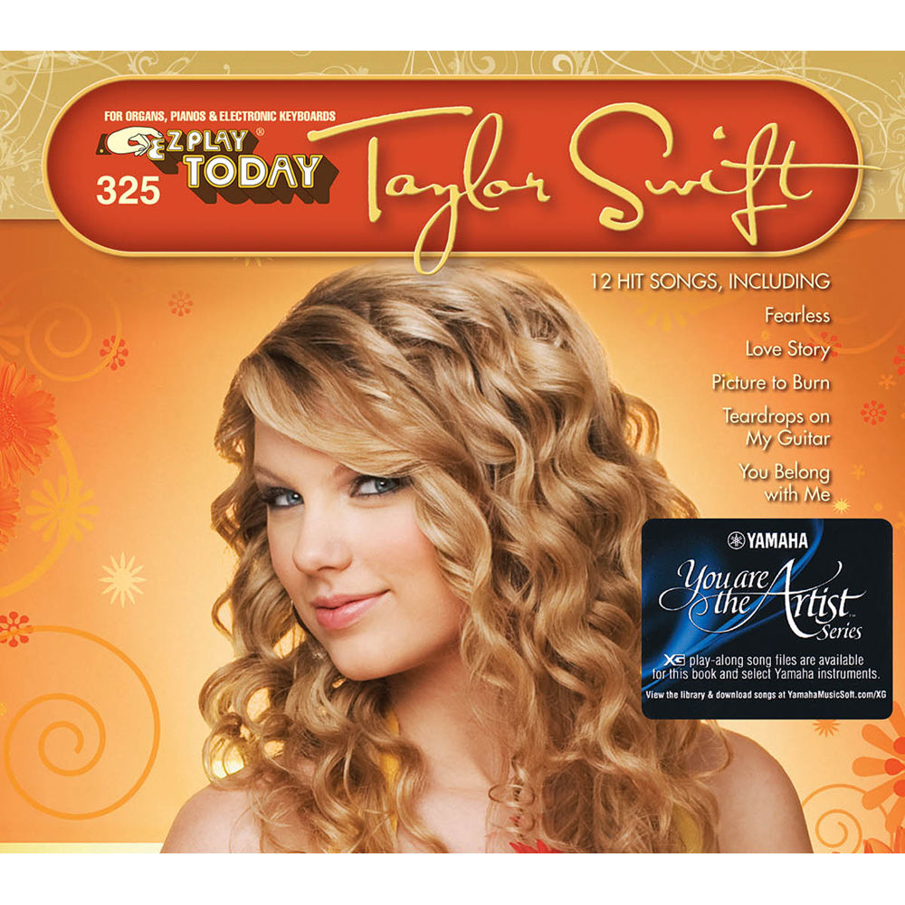 Hal Leonard Taylor Swift E Z Play Today Songbook 143571 Bh