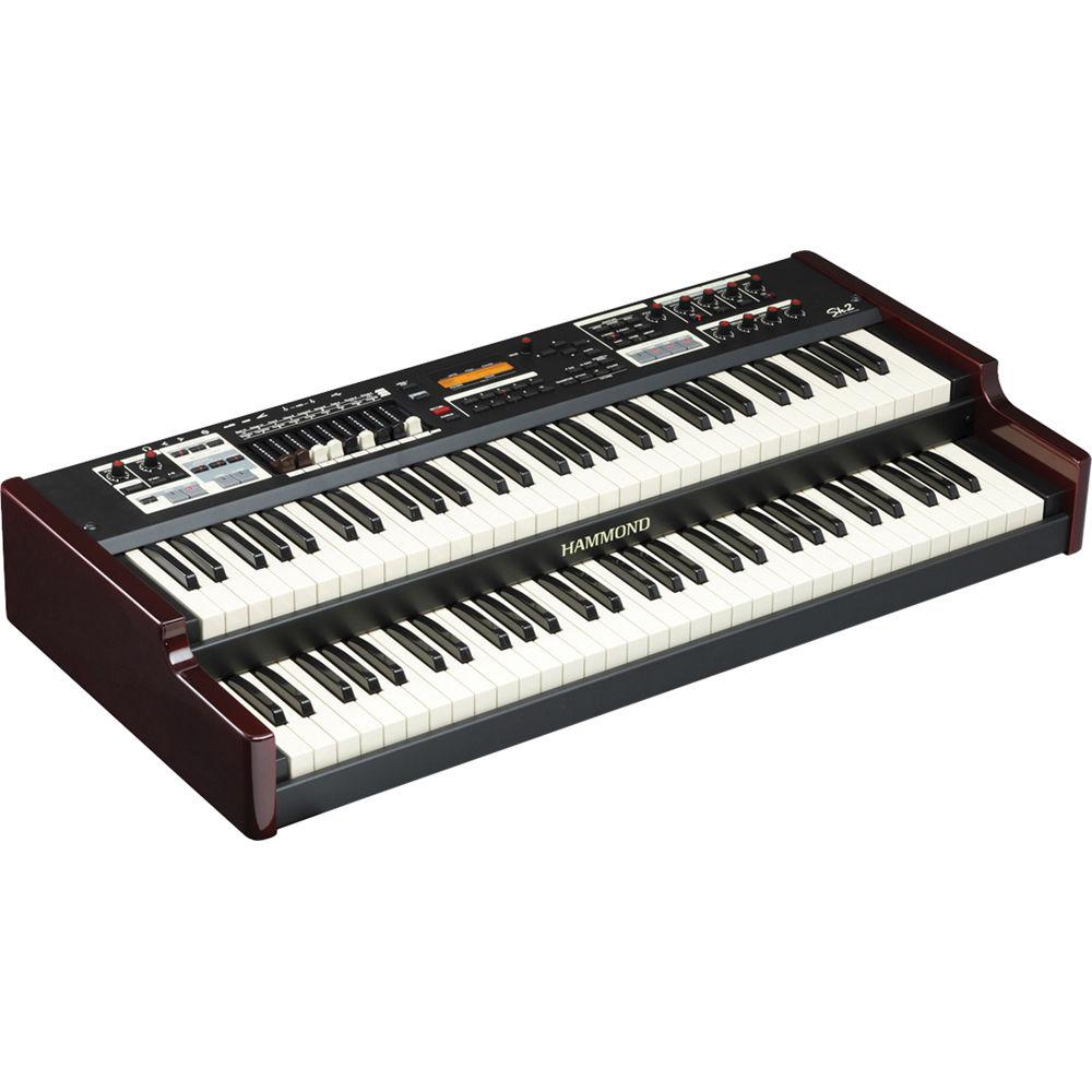 hammond sk2 portable hammond organ and stage keyboard sk2 b h. Black Bedroom Furniture Sets. Home Design Ideas