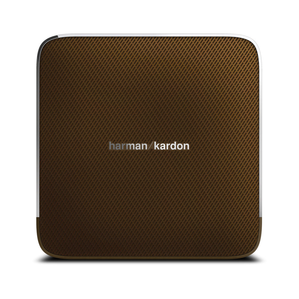 harman kardon esquire portable wireless speaker hkesquirebrnam. Black Bedroom Furniture Sets. Home Design Ideas