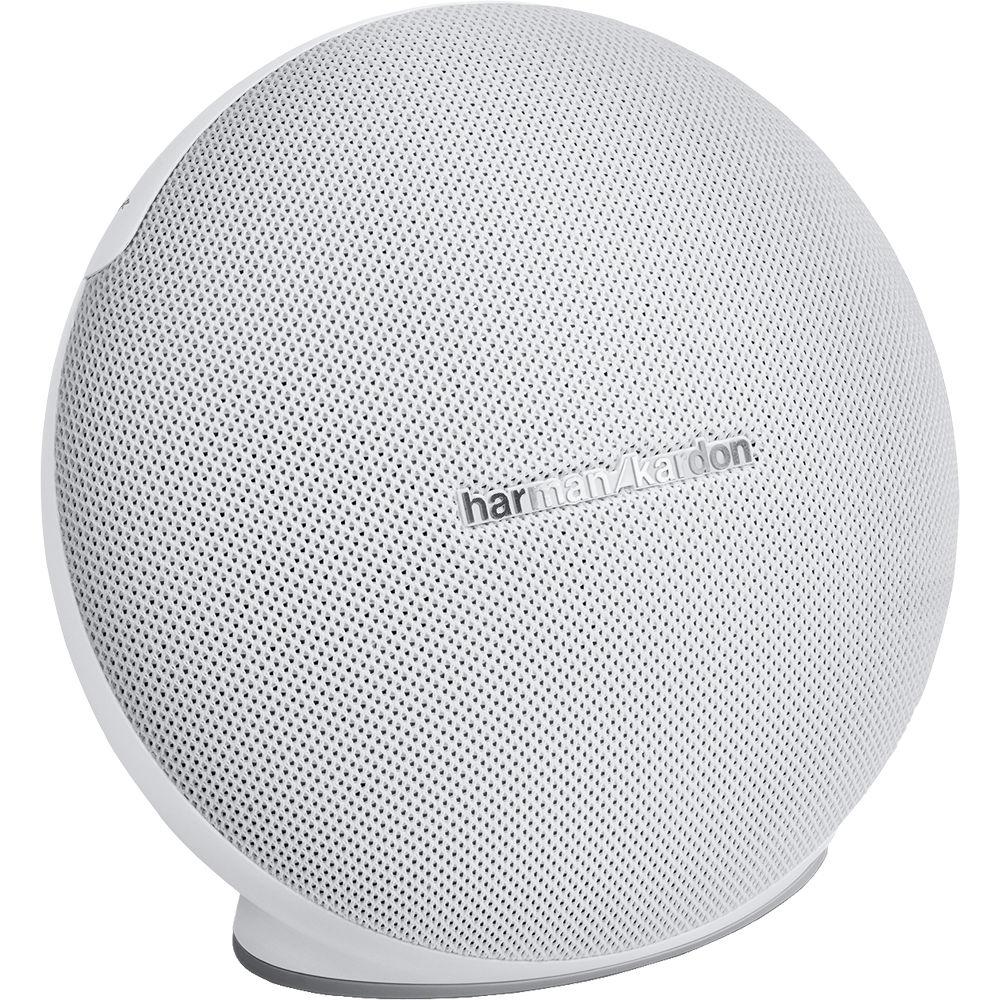Harman Kardon Onyx Mini Portable Bluetooth Hkonyxminiwhtam Bh Studio 1 International Warranty Wireless Speaker White