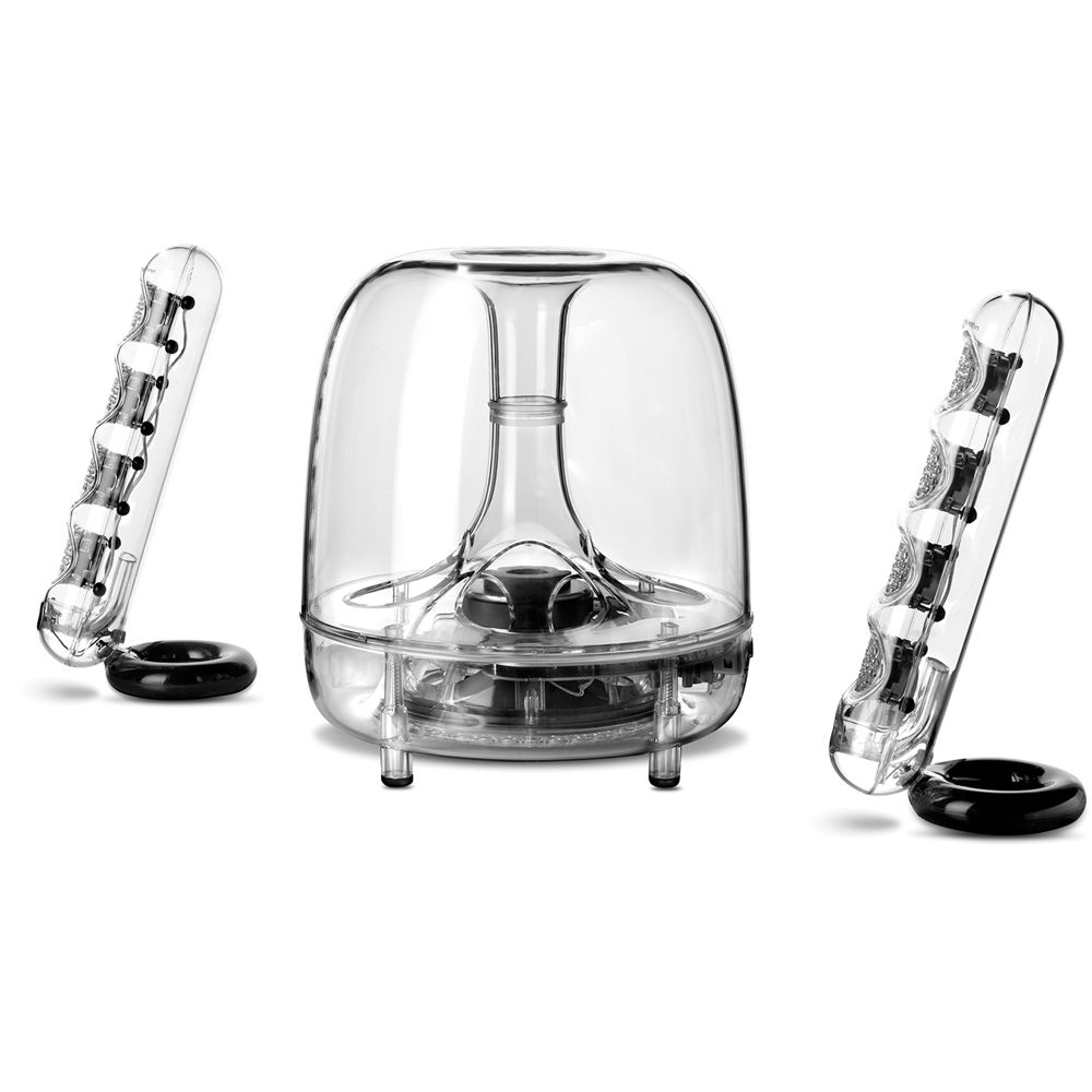 harman kardon soundsticks bluetooth wireless 2 1. Black Bedroom Furniture Sets. Home Design Ideas