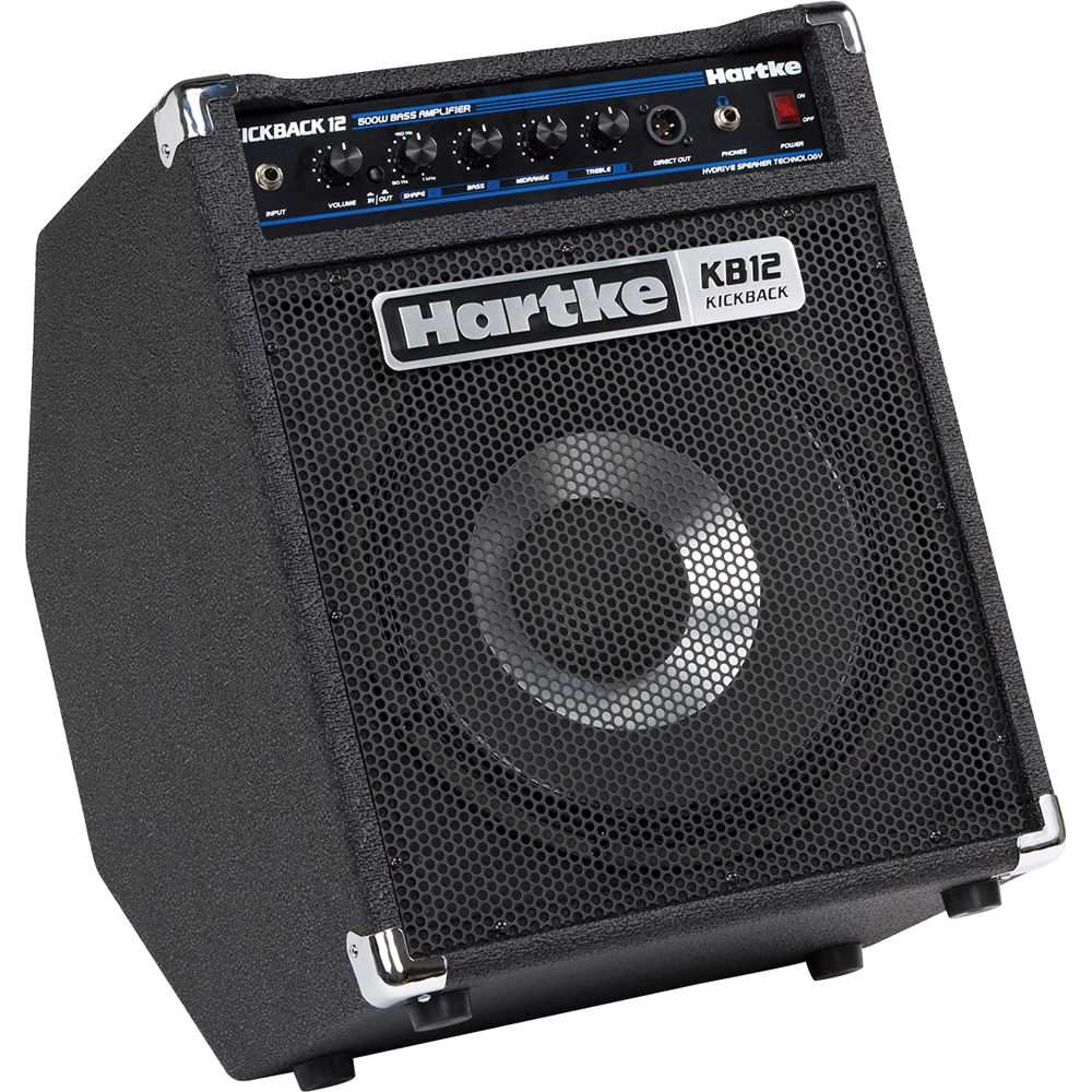Hartke Kickback Kb12 500w 1x12 Combo Amplifier Bh Apmilifier Mini Guitar Bass Circuit And Explanation For Electric