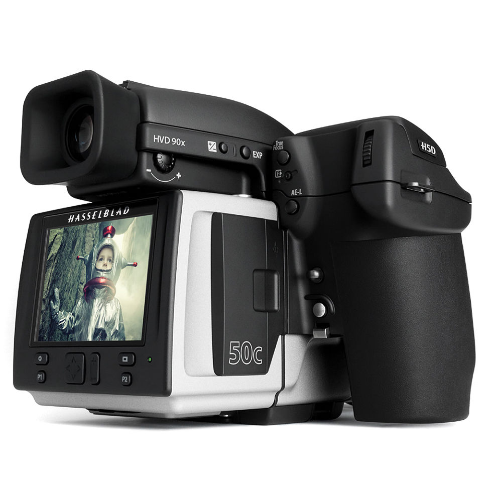 New Drivers: Hasselblad H5D-50 Multi-Shot Camera Body