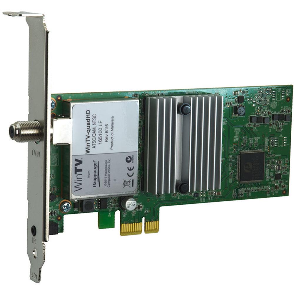 Hauppauge WinTV-quadHD PCIe Card 1609 B&H Photo Video