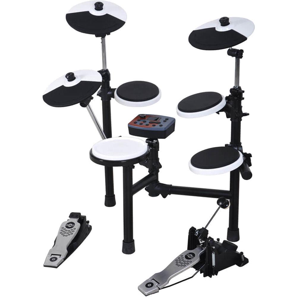 Hitman hd 3 portable electronic drum kit hd 3 b h photo video - Roland hd3 v drum lite set ...