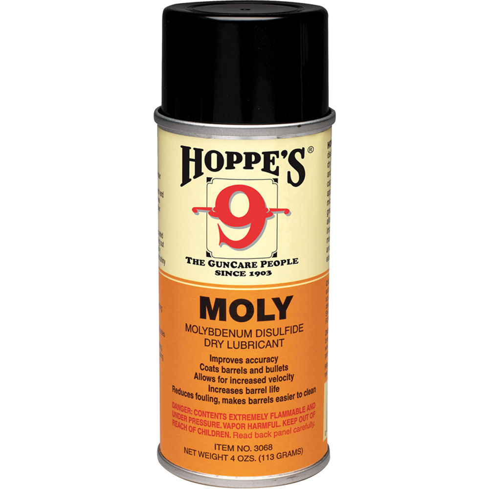 Hoppes Moly Aerosol Dry Lubricant (4oz Can) 3068 B&H Photo ...