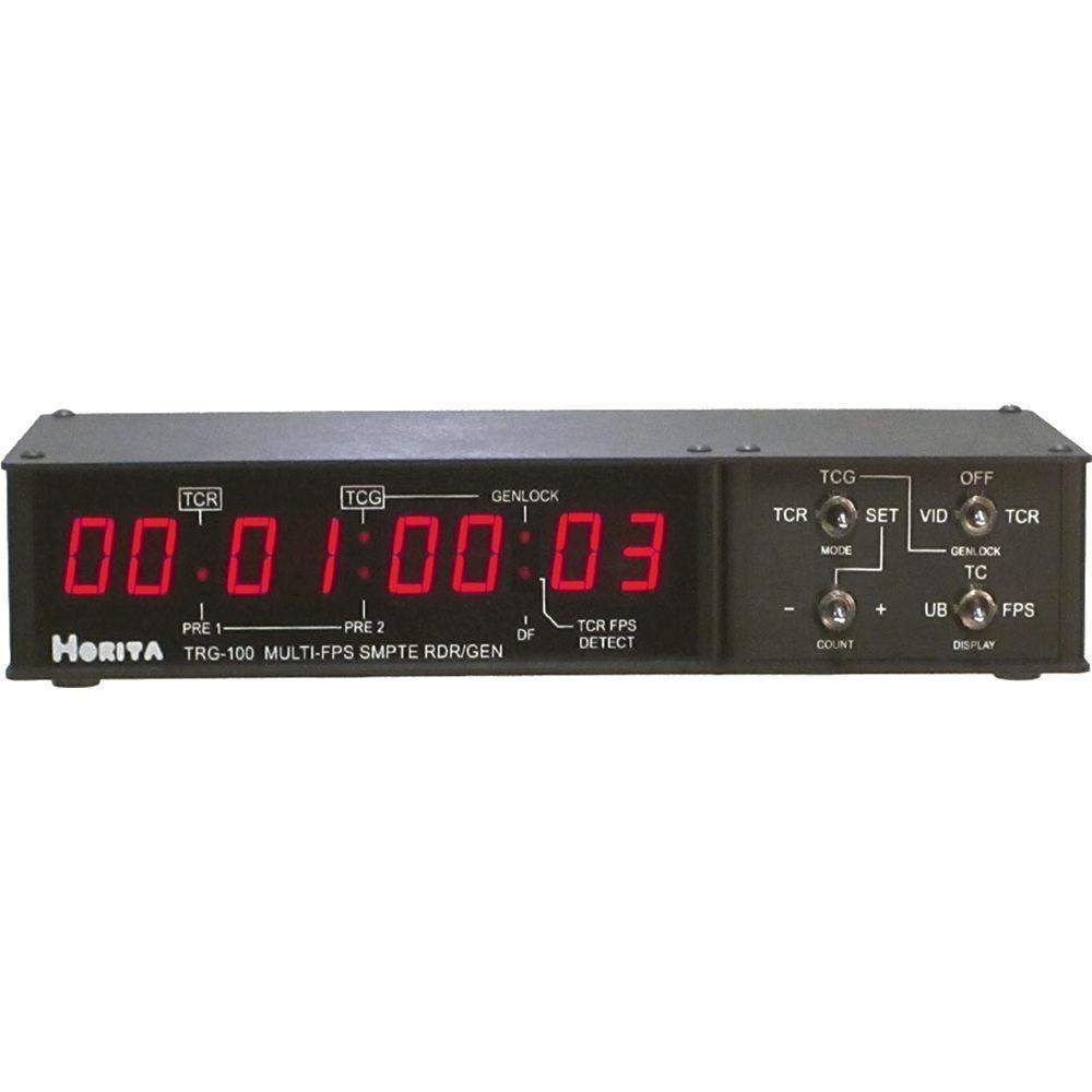 Horita TRG-100 Timecode Reader/Generator TRG-100 B&H Photo Video