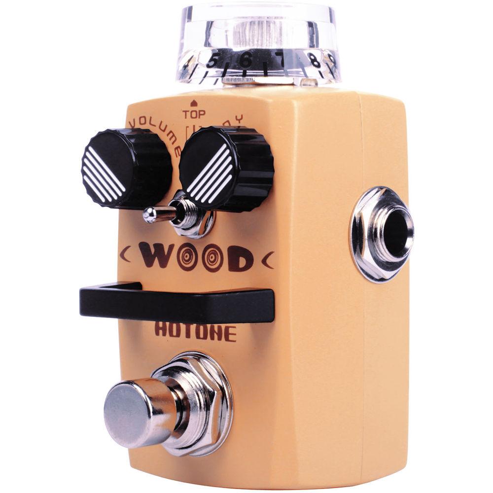 hotone wood acoustic guitar simulator pedal tpswood b h photo. Black Bedroom Furniture Sets. Home Design Ideas