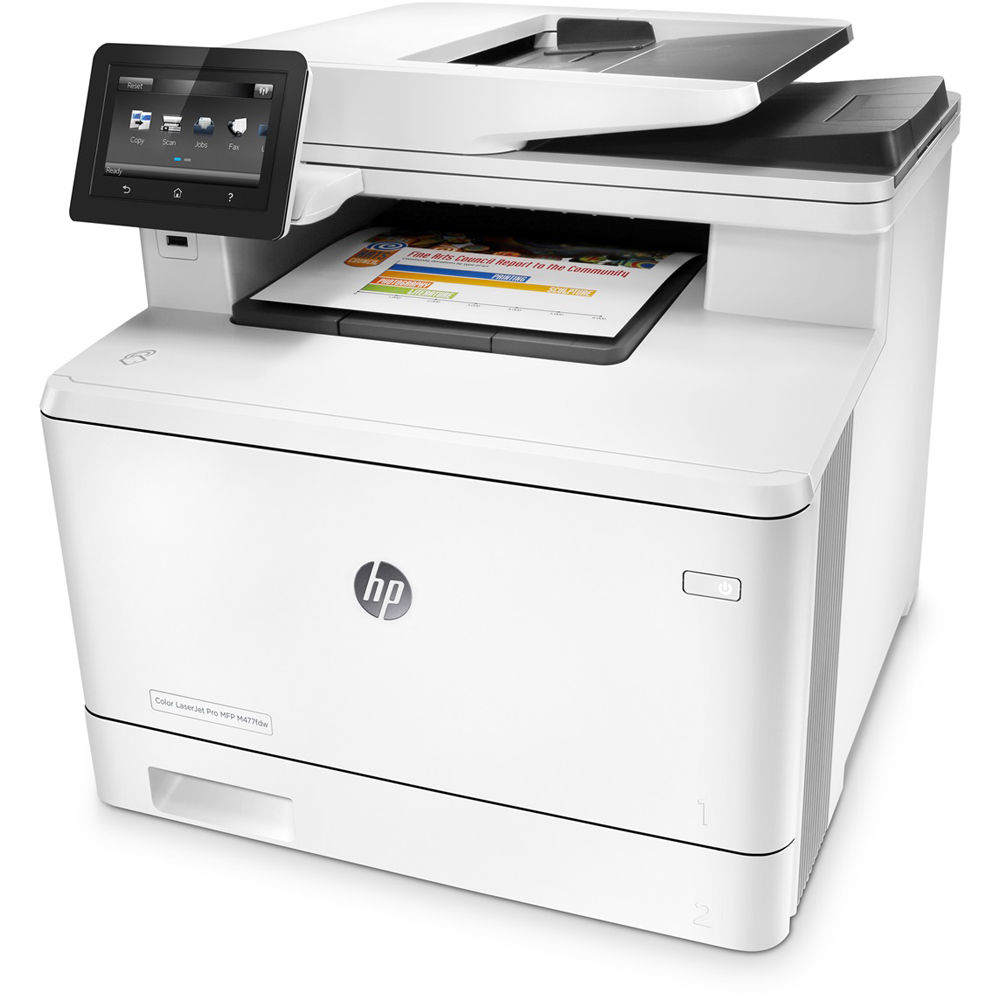 Hp Color Laserjet Pro M477fdw All In One Laser Printer