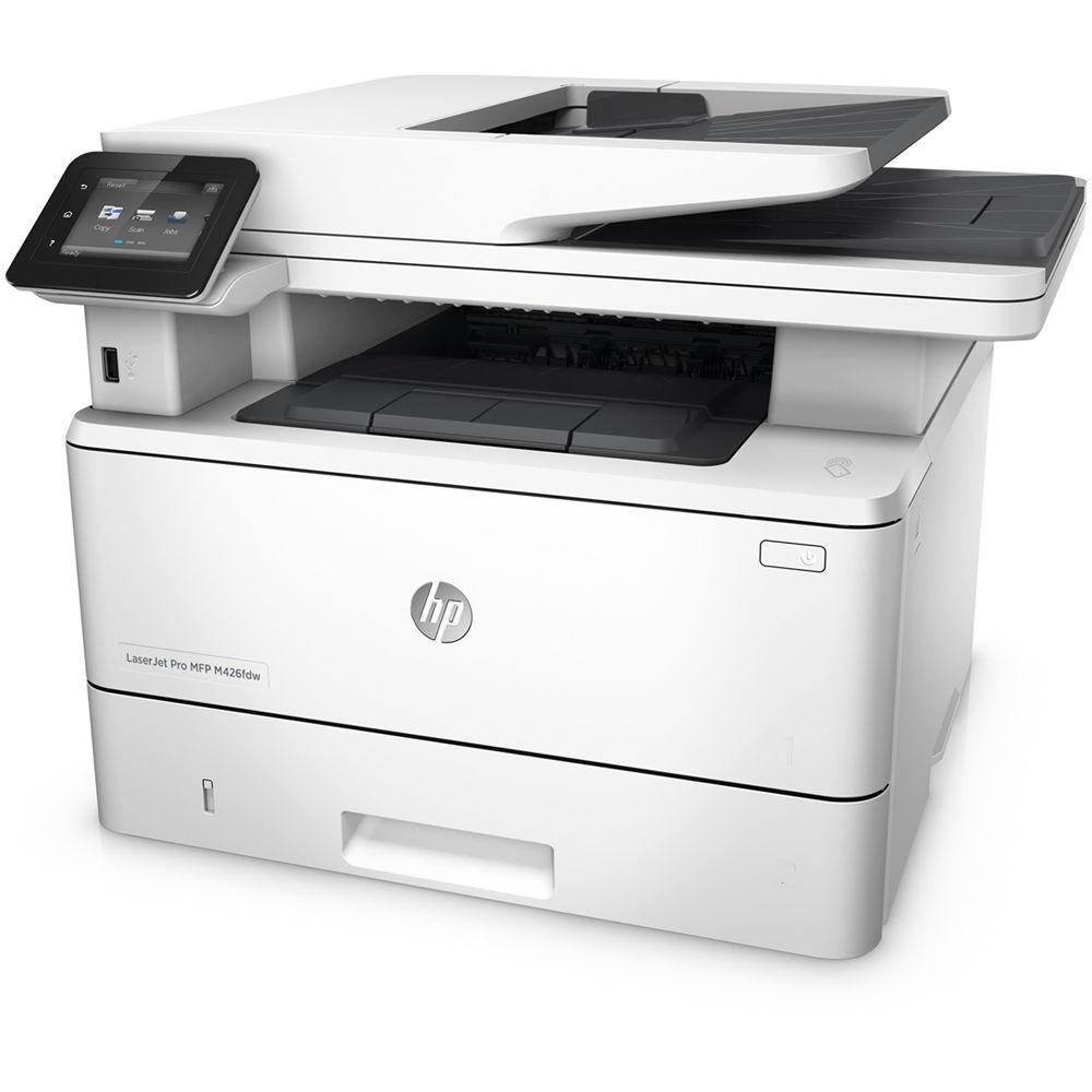 HP LaserJet Pro M426fdw All-in-One Monochrome Laser F6W15A B&H