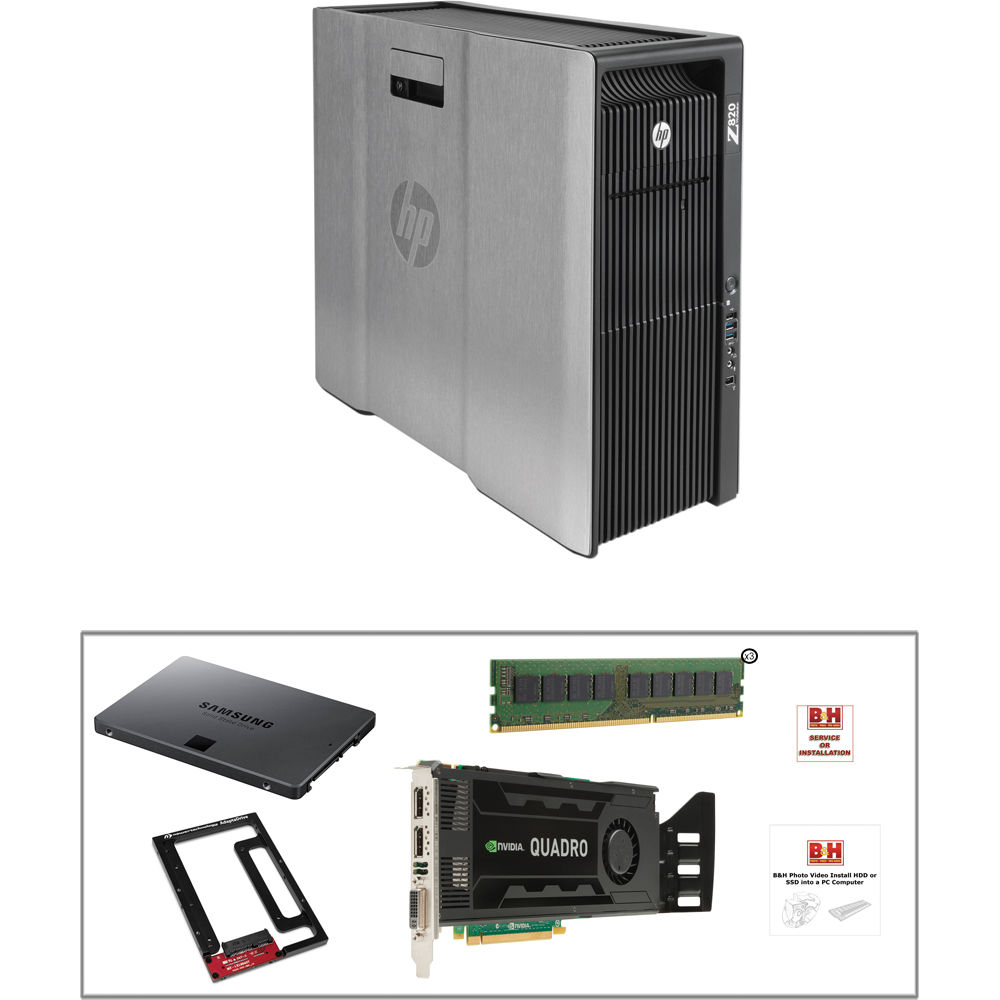 Hp z820 - The baby in the hangover