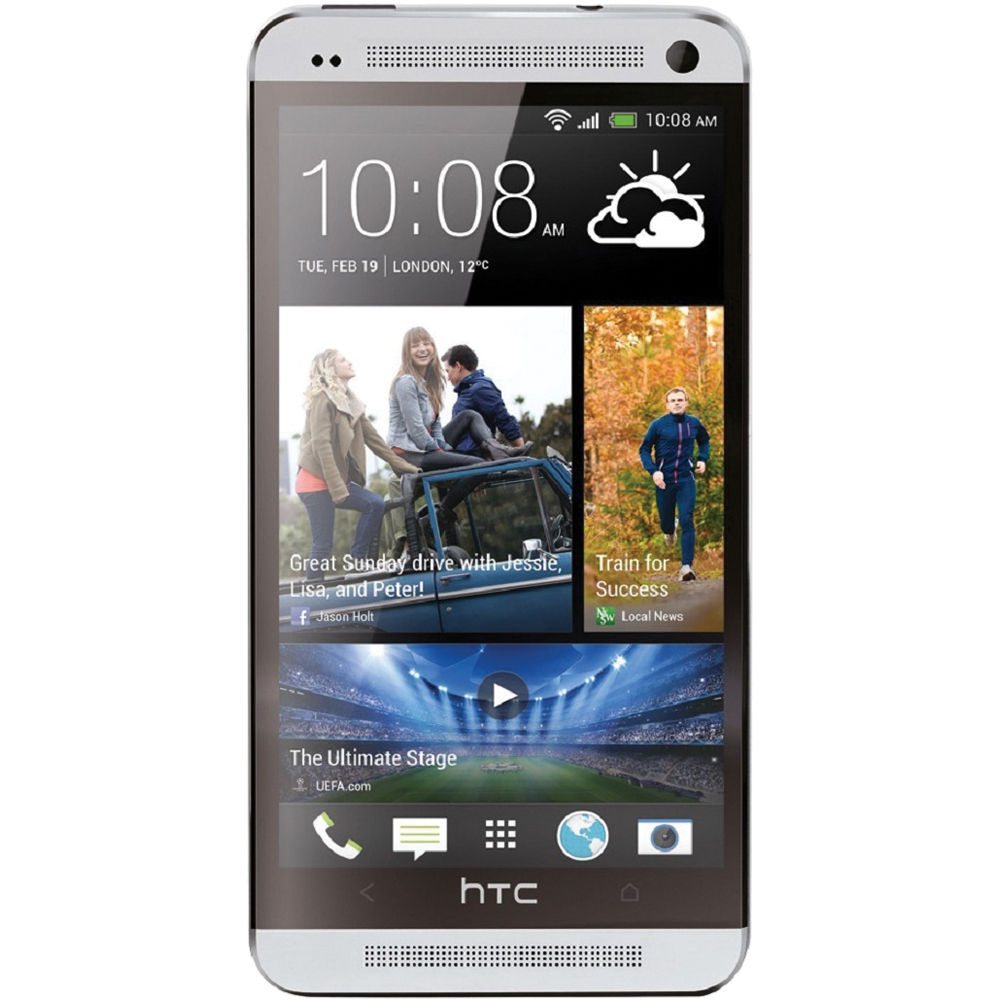 HTC One M7 32GB AT&T Branded Smartphone (Unlocked, Silver)