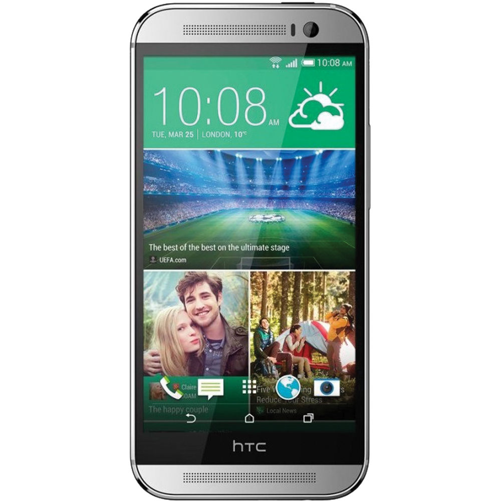 htc one m8 32gb at t branded smartphone one m8 us silver b h rh bhphotovideo com AT&T HTC 1X HTC Inspire