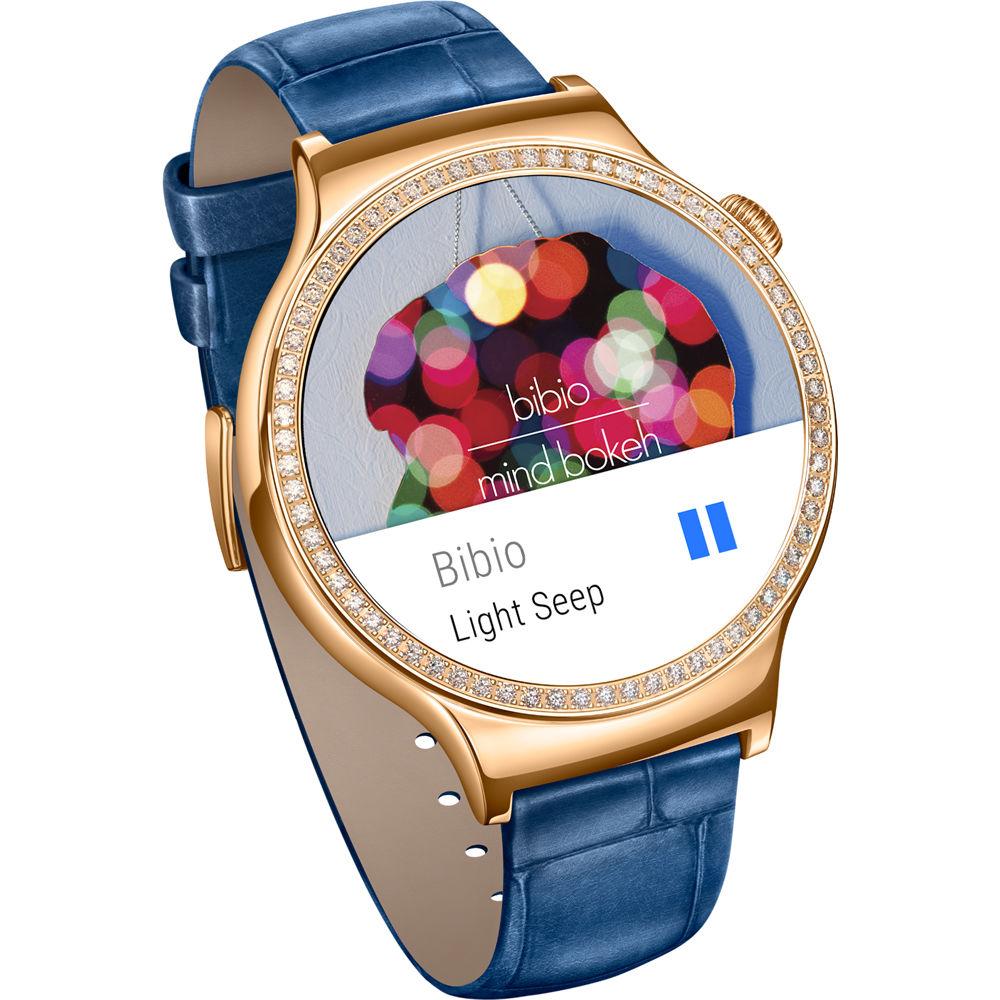 huawei smartwatch. huawei watch jewel women\u0027s 44mm smartwatch (rose gold stainless steel encircled with swarovski zirconia, a
