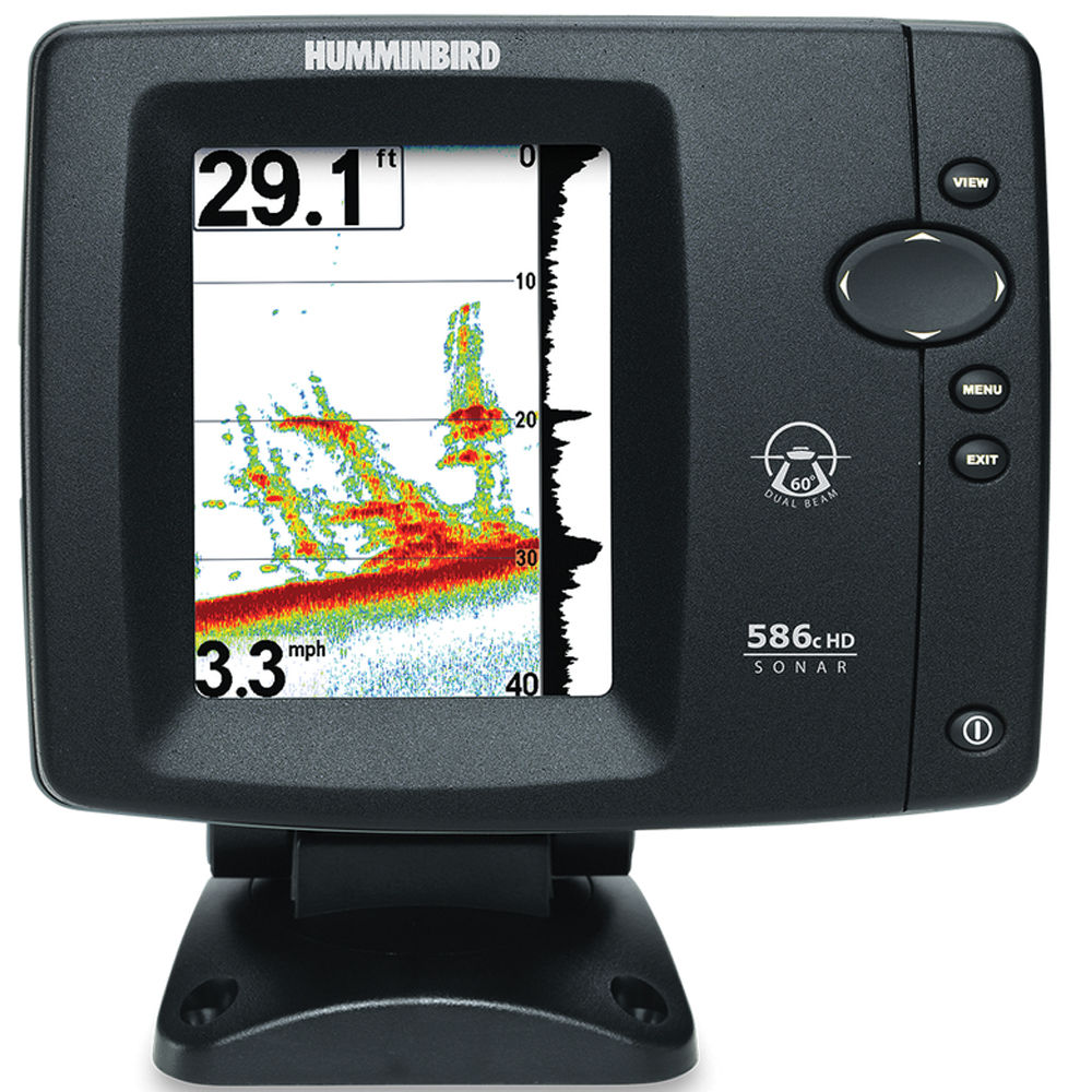 Humminbird 586c hd fishfinder 407890 1 b h photo video for Humminbird fish finder