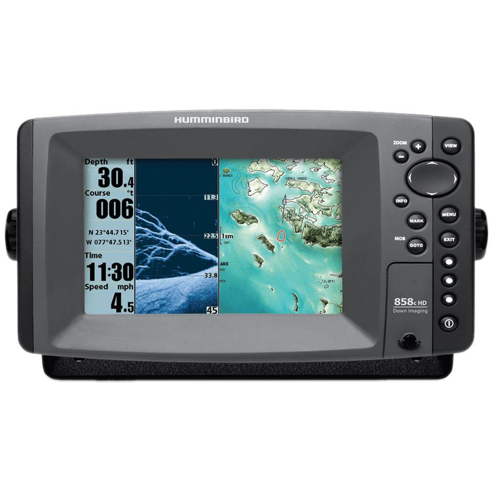 Humminbird 858c hd di combo fishfinder 409000 1 b h photo for Hummingbird fish finder reviews