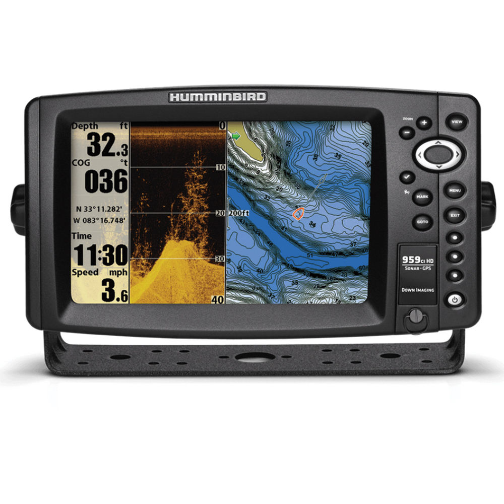 Humminbird 959ci hd di combo fishfinder 409180 1 b h photo for Humminbird fish finder