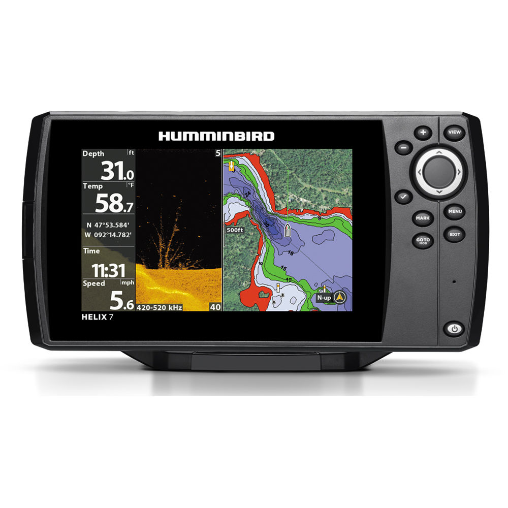 humminbird helix 7 chirp di gps g2 fishfinder 410300-1 b&h photo, Fish Finder