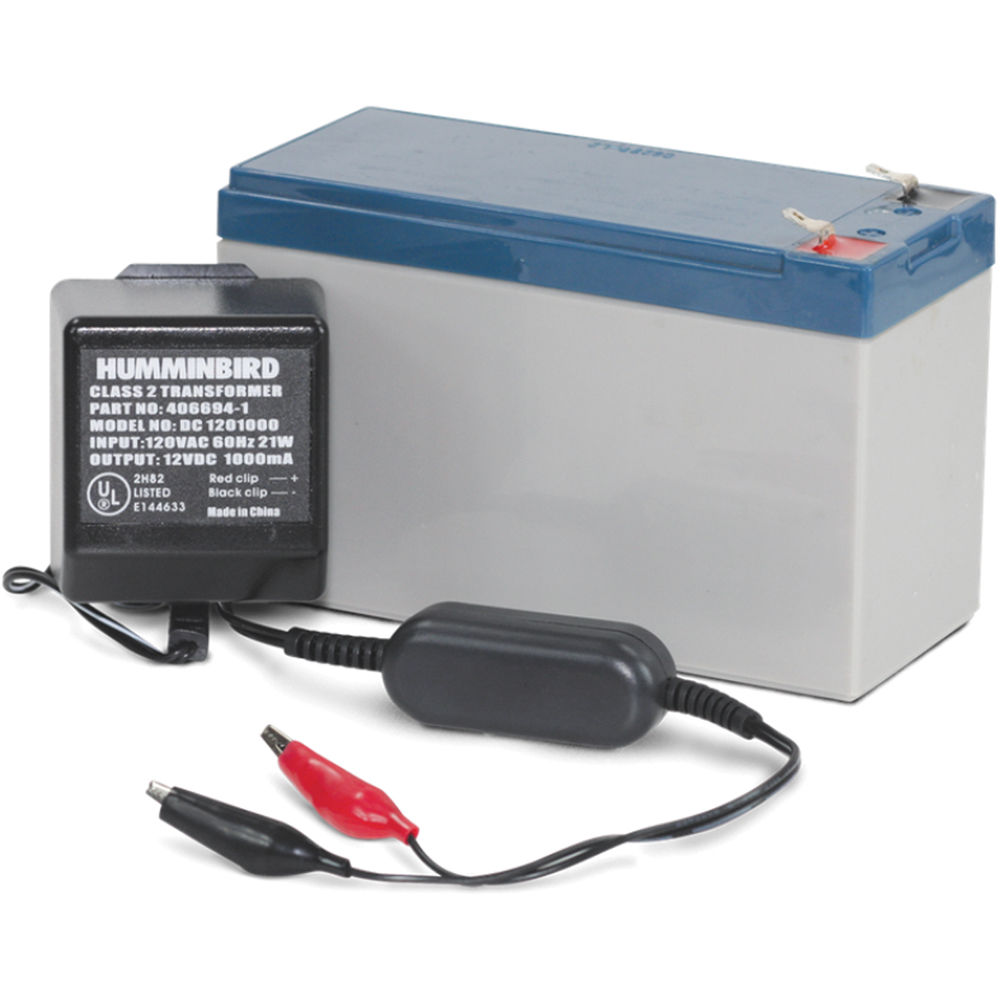 humminbird gcbk battery and charger kit for ptc u or 770028-1, Fish Finder