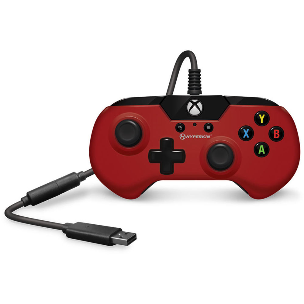 HYPERKIN X91 Wired Controller for Xbox One (Red)