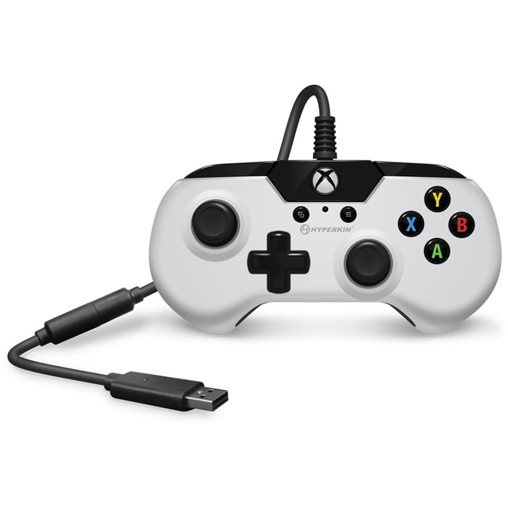 HYPERKIN X91 Wired Controller for Xbox One (White) M01628-WH B&H