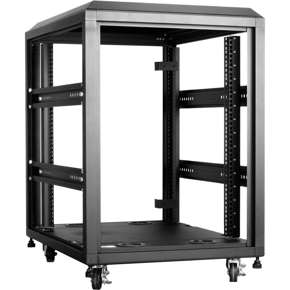 iStarUSA WX-158 800mm 4-Post Open-Frame Rack (15 RU) WX-158 B&H
