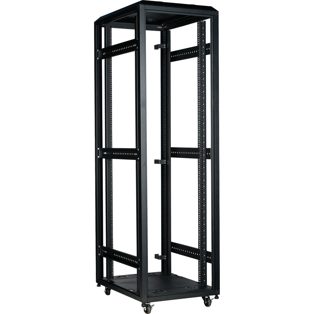 iStarUSA WX-428 800mm 4-Post Open-Frame Rack (42 RU) WX-428 B&H