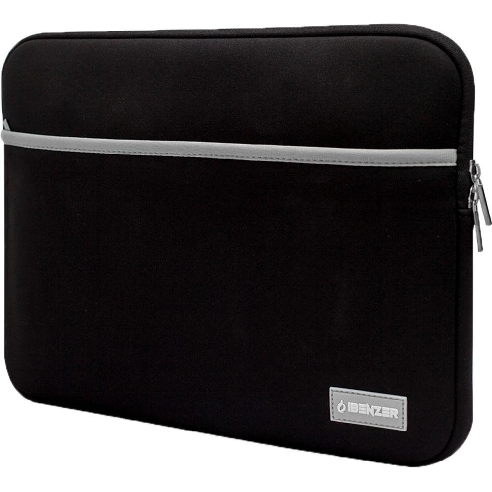 ibenzer bg0113bk 13 3 neoprene protective laptop 1446493.jpg b031b15da5a3e