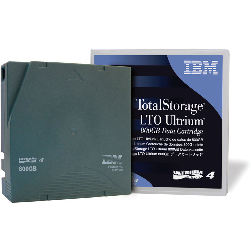 Ibm 95p4436 Lto Ultrium 4 Tape Cartridge 800gb 1 6tb 95p4436