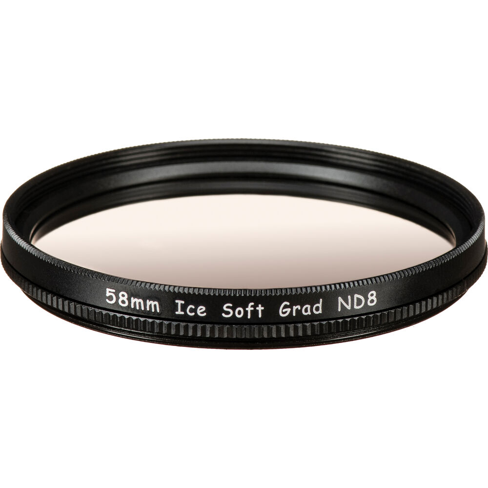 Ice 58mm Soft Edge Graduated Neutral Density 09 Filter 3 Stop