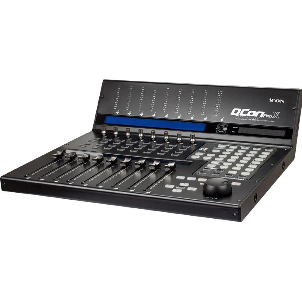 Qcon Midi Controller : icon pro audio qcon pro x usb midi controller stati qconprox ~ Vivirlamusica.com Haus und Dekorationen